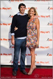 Matt Komer and Olympian Jaime Komer at Kids Play International's 4th Annual Cocktails For A Cause