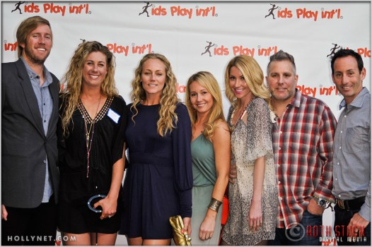 Olympians April Ross, Jen Kessy and Guests at Kids Play International's 4th Annual Cocktails For A Cause