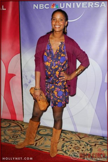 Joy Bryant at NBC Universal Press Tour