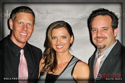 Olympians Sky Christopherson, Tamara Christopherson and Adam Laurent