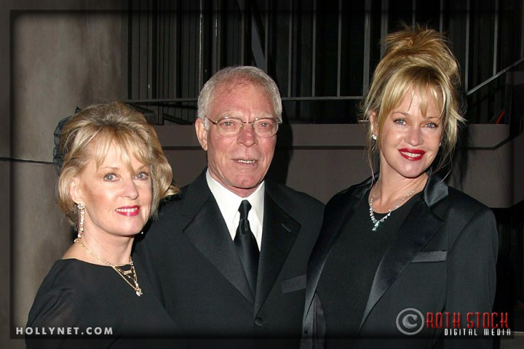 Tippi Hedren, Martin Dinnes and Melanie Griffith