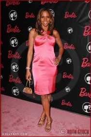 Holly Robinson Peete attends Barbie's 50th Birthday Party at her Real-Life Malibu Dream House
