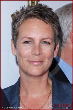 Jamie Lee Curtis attends opening night of The Producers