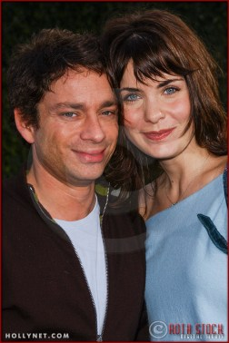 "Chris Kattan and guest Meg Guillentine attend the World Premiere of ""Lemony Snicket's A Series of Unfortunate Events"""