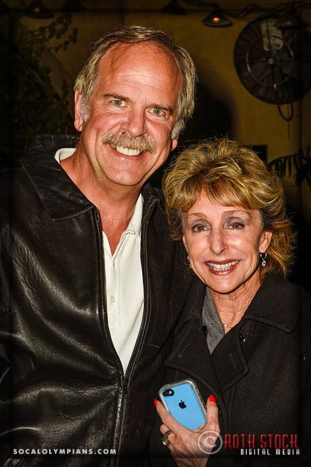Olympian John Naber and Debby McCormick
