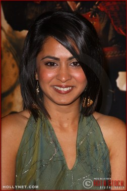 "Actress Parminder Nagra attends the U.S. premiere of ""The Last Samurai"""