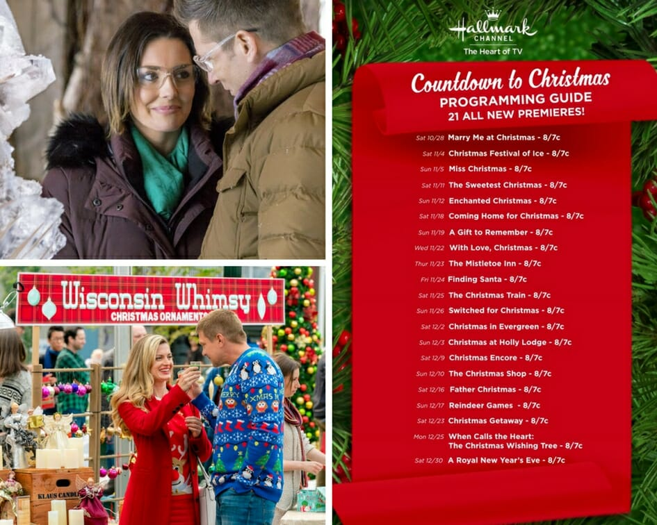 Klaus Wisconsin Christmas Festival 2020 Countdown to Christmas continues on Hallmark Channel, preview