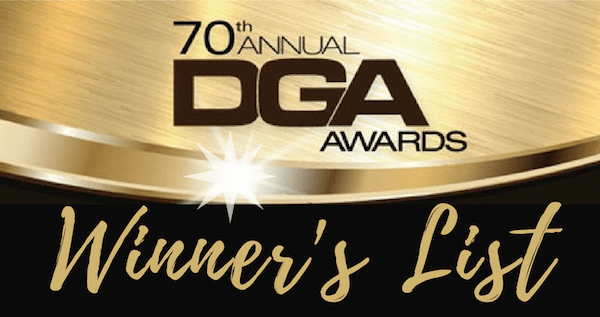 Recap: 70th annual DGA Awards names Guillermo del Toro as the