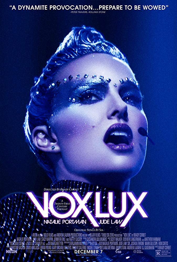 "Reviewed: ""Vox Lux "" starring Natalie Portman who is stunningly"