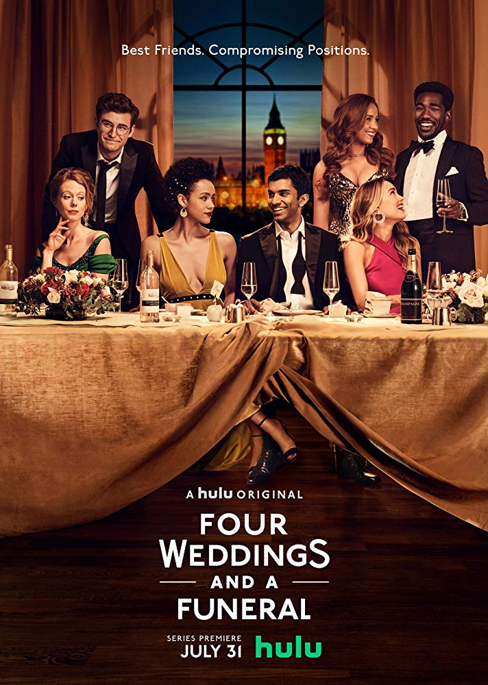 "Watch alert: Hulu's new original series: ""Four Weddings and a"