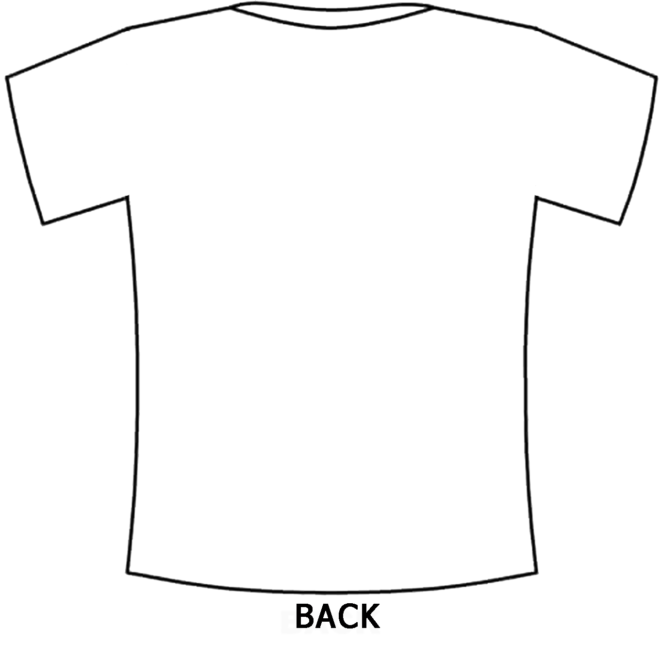 Buy White T Shirt Template Front And Back