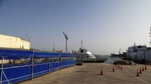 The Ferry at the Port in Dakar