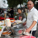 Chengdu Street Vendors' Food Fight