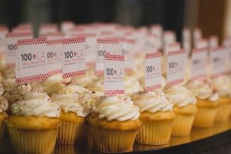 Centennial Volunteer & Employee Excellence Awards Cupcakes