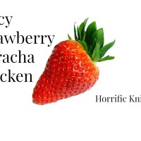 Spicy Strawberry Sriracha Chicken