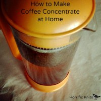 How to Make Coffee Concentrate