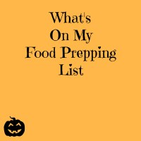 Learning to Homestead-Basic Food Prepping List