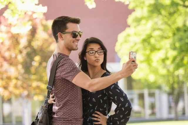 Студенты фотошколы