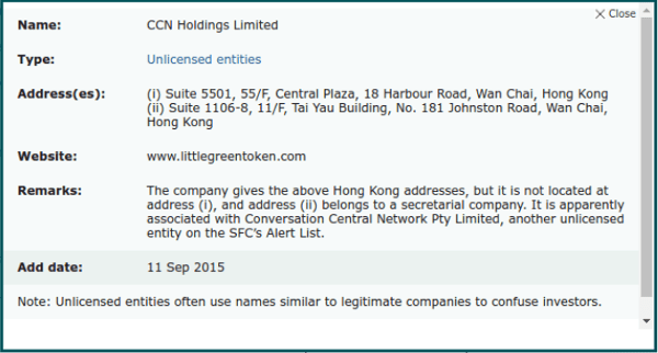 CCN Holdings