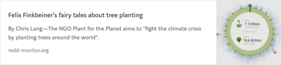 Plant for the Planet: Finkbeiner