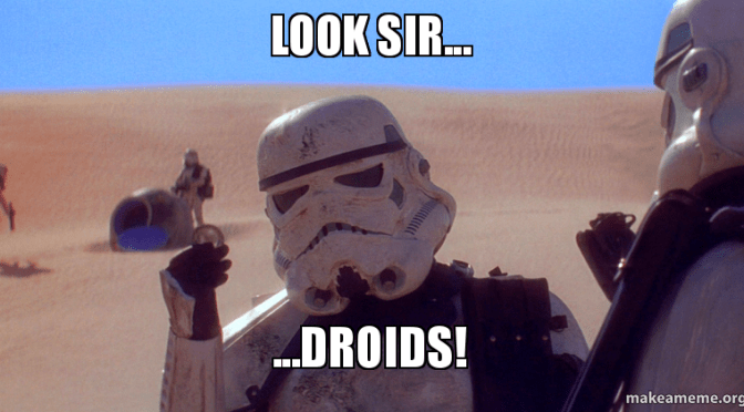 Why I love droids in FFGs Star Wars games