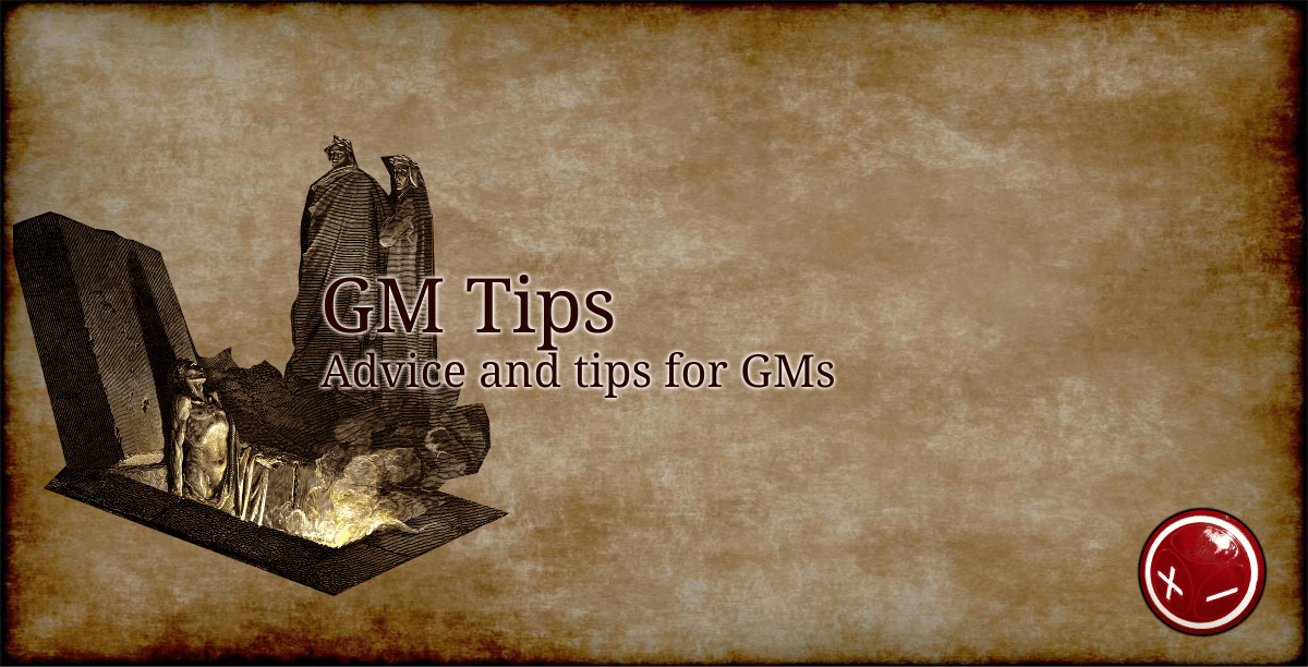 GM Tips: Use the Map