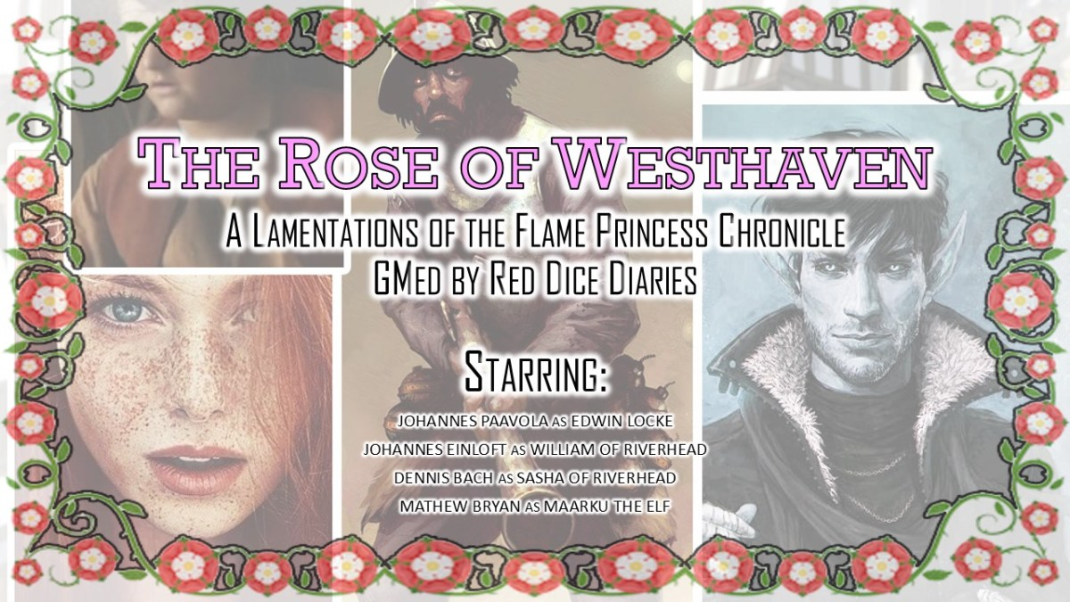 Rose of Westhaven: Session One Write-up