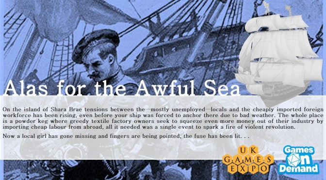 Games on Demand: Alas for the Awful Sea
