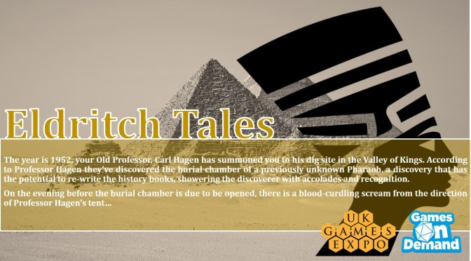 Games on Demand: Eldritch Tales