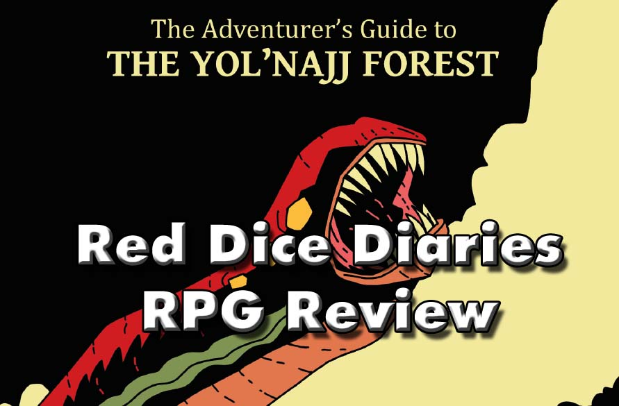 RPG Review: The Adventurer's Guide to the Yol'Najj Forest