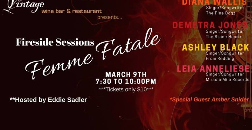 Fireside Sessions - Femme Fatale Edition