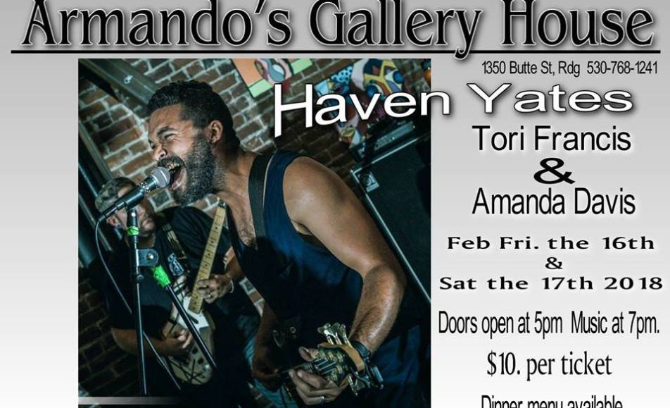Haven Yates at Armando's