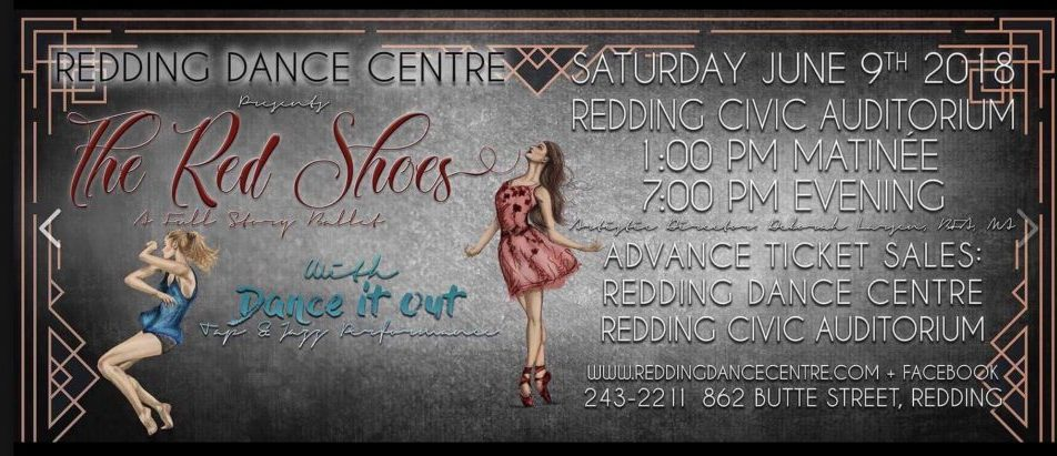 The Red Shoes & Dance It Out