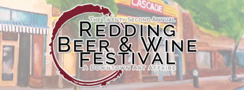 Redding Beer and Wine Festival banner