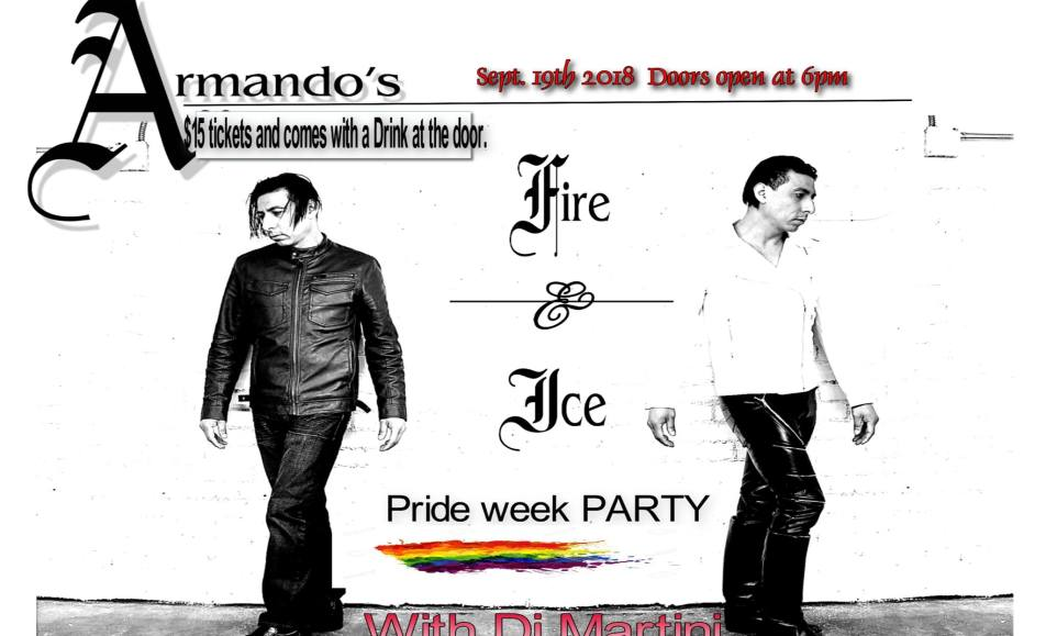 PRIDE week fire and Ice Party