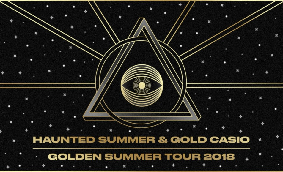 Haunted Summer – Gold Casio