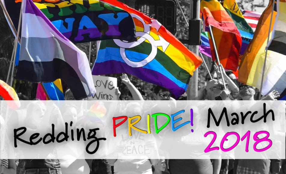 Redding PRIDE March 2018