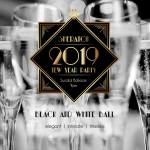 Black and White NYE Ball at Sheraton Redding