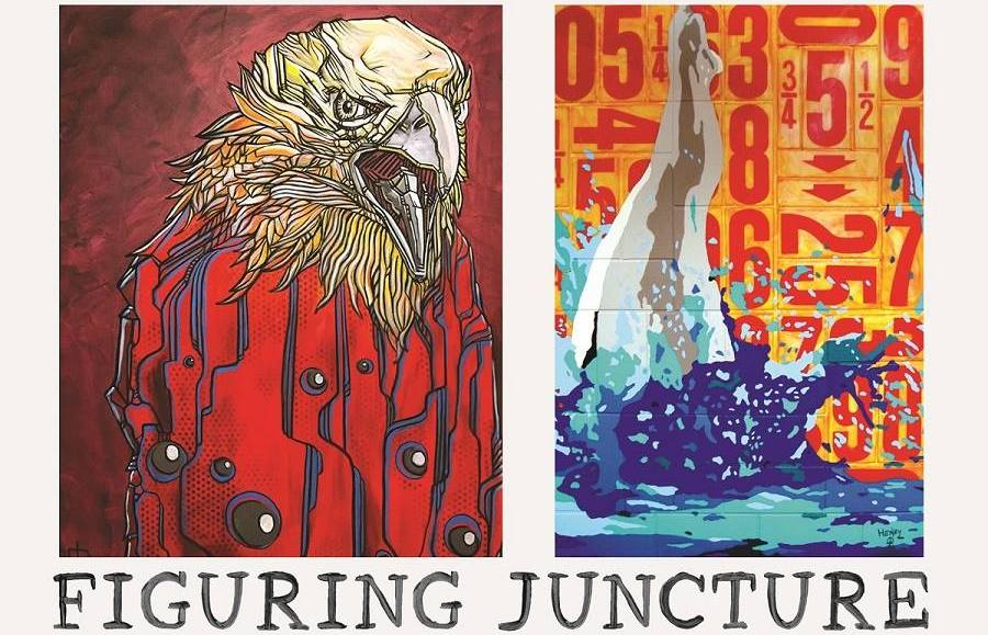 Figuring Juncture: the contemporary art of Justin Patton & Karlo Henry Velazquez