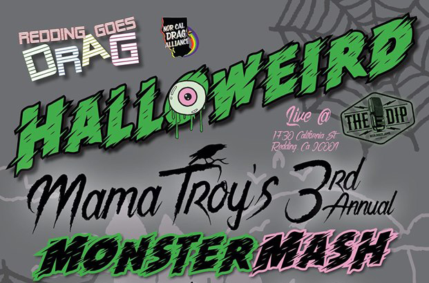 Redding Goes Drag: Mama Troy's 3rd Annual Monster Mash