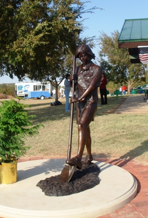 Girl Scout Statue