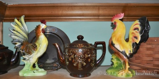 Vintage chickens I bought from Wisteria a couple of years ago.
