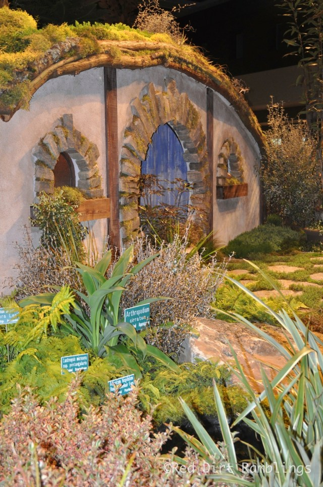 The Hobbit Garden was very popular at the show.