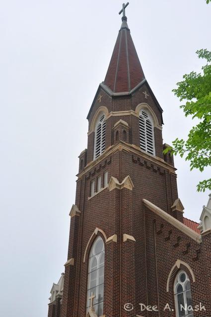 St. Mary's steeple, Guthrie, Oklahoma
