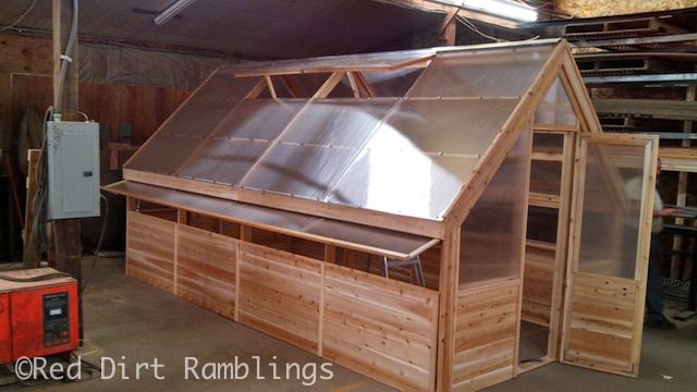 This is a photo of my greenhouse at the company where it was built. I should be receiving it this week.