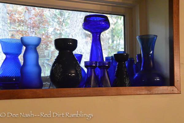 Cobalt blue hyacinth and crocus vases are still my favorites.