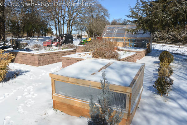 Greenhouse and cold frame