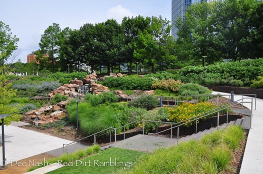 Another shot of the Myriad Botanical Gardens.