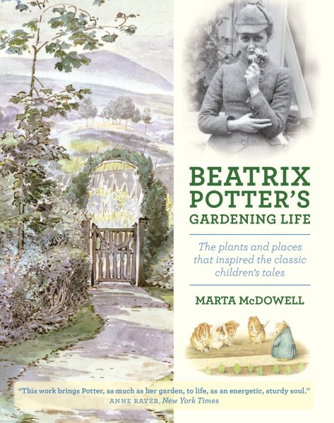 Cover of Beatrix Potter's Gardening Life. Gifts for Gardeners
