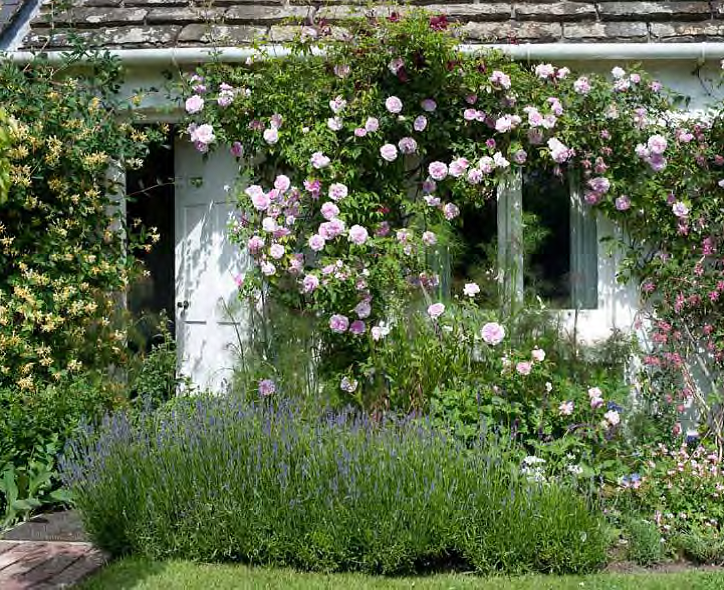 Virginia Woolf's Garden. Photo used with permission. Photography © 2013 Caroline Arber